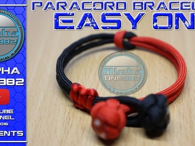 How To Make Easy On Paracord Bracelet Tutorial
