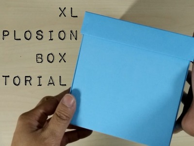How To Make Extra Large Explosion Box Free Tutorial Free Templates
