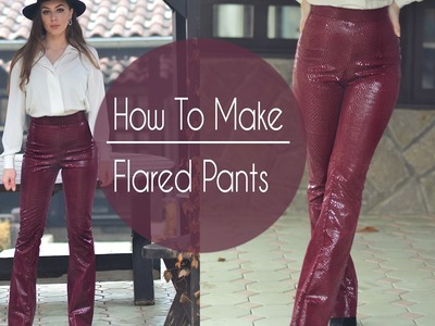How To Make Flared Pants