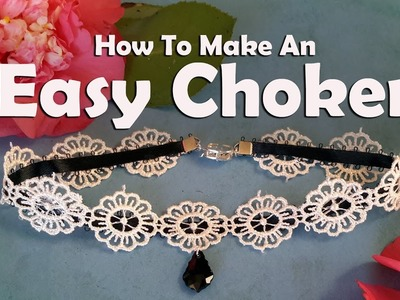 How To Make Jewelry: How To Make An Easy Choker