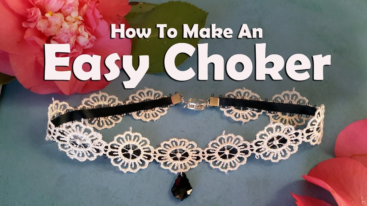 How To Make Jewelry: How To Make An Easy Choker