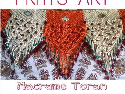 How To Make || Macrame Toran ||