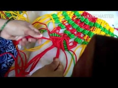 How to make macrame toran