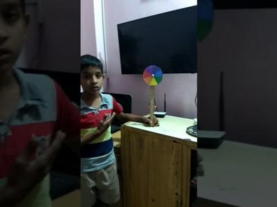 How to make Newton disc made by Sagar