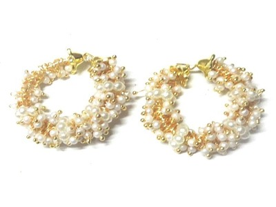 How to make Pearl Loreal Designer Earrings