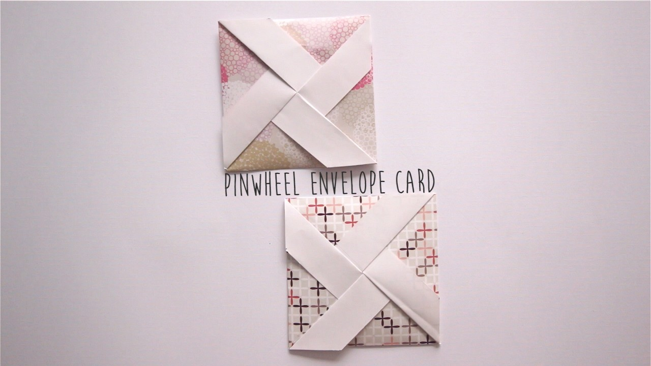 How to make: Pinwheel Envelope