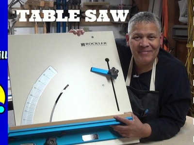 How to Use a Table Saw Cross Cut Sled