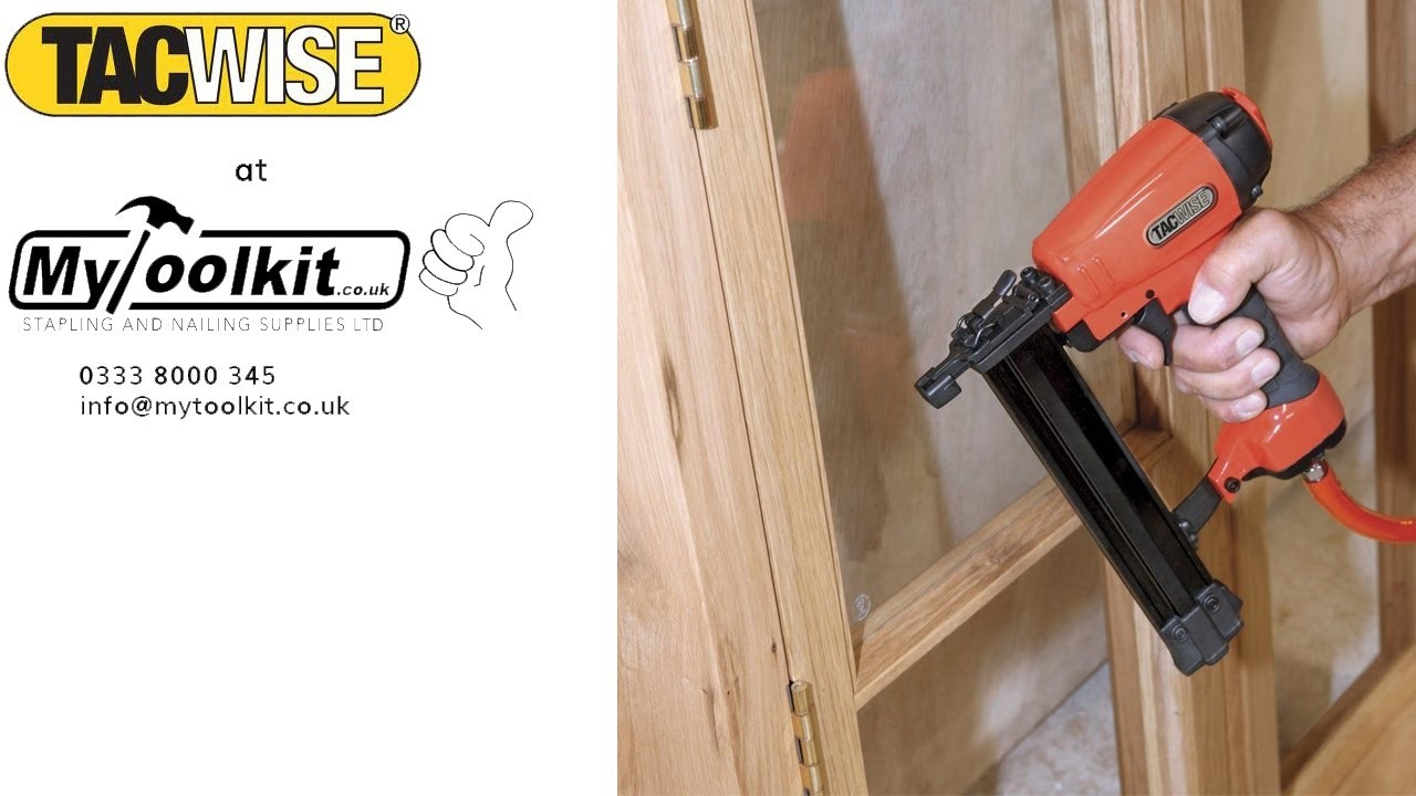 How to use the Tacwise C1832V 18G Nail Gun
