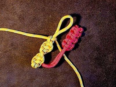 Portuguese Flat Sennit & Spiral Sennit - How to Make Zip Pull or Key Fob ????