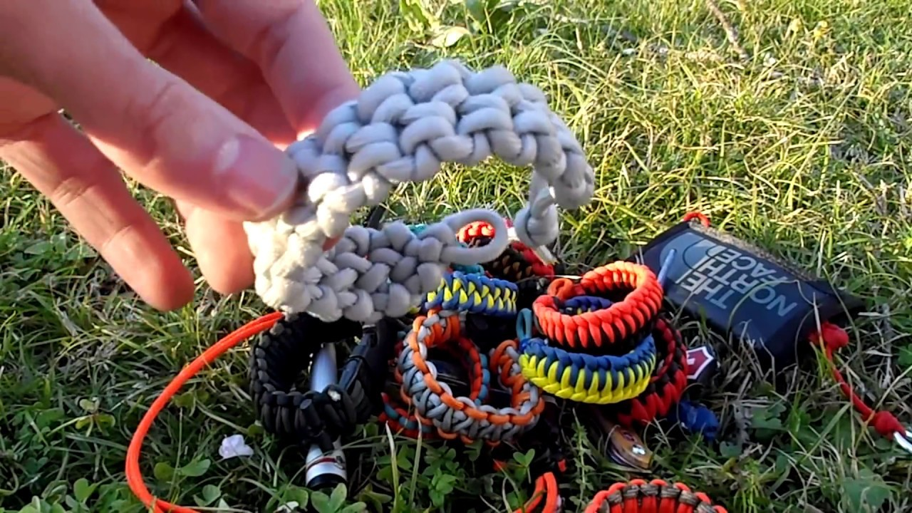 Thoughts and how to make my edc paracord bracelet(108)