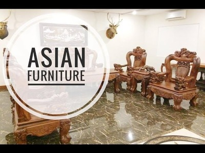 Woodworking Tools || How to make furniture Asian style