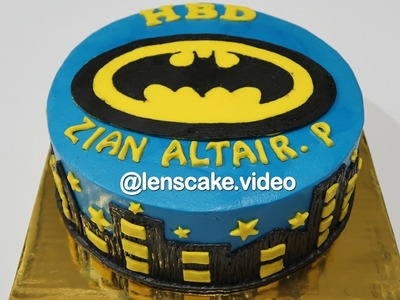 Batman Arkham City ! How to Make Birthday Cake for Kids