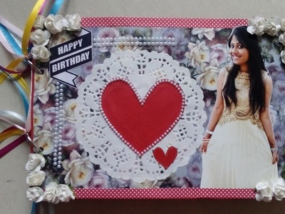 Birthday.valentine scrapbook.