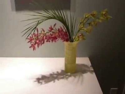 Cut orchids in a vase- how long will they last?