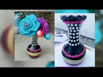 D.I.Y flower Pot Decoration Tutorial