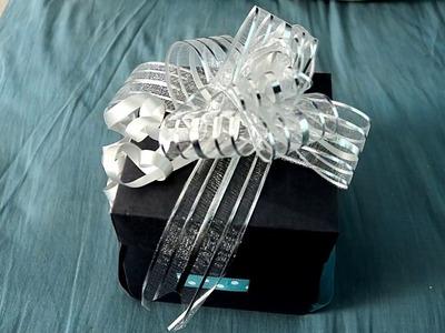 DIY - Handmade Gift (Explosion box)