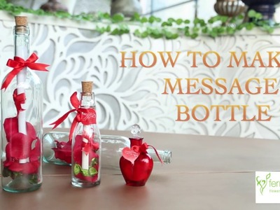 DIY: Message in a Bottle Gift