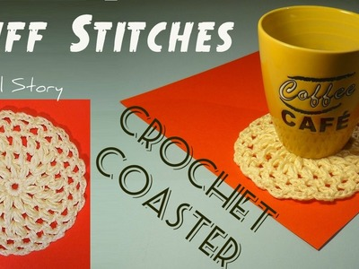 Easy Crochet Puff Stitches Coaster