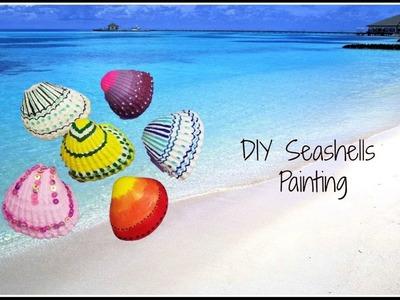 Easy DIY Seashells painting