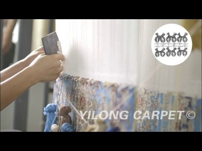 Handmade rug --- How to weave hand knotted carpet?