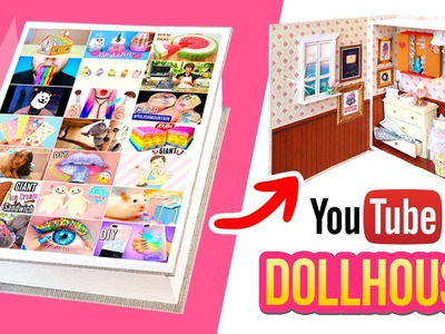 How many YOUTUBERS can you spot in this video??! DIY Youtube Dollhouse!