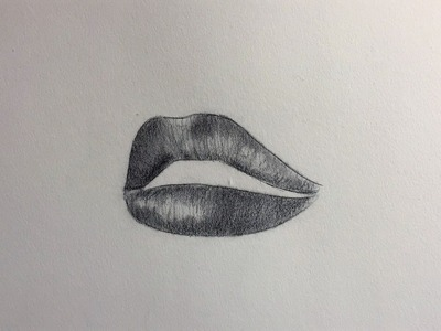 How to draw realistic lips (beginners) - Alpha Art