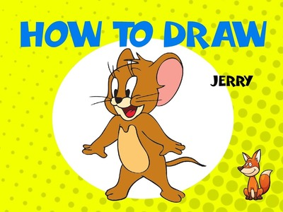 How to draw Tom and Jerry - STEP BY STEP - DRAWING TUTORIAL
