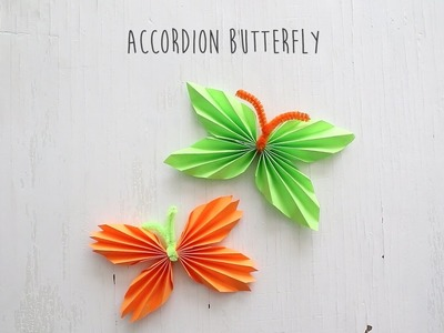 How to Fold: Accordion Butterfly