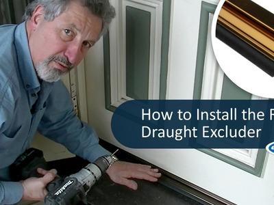 How to Install the RP3 Draught Excluder | by ecoMaster