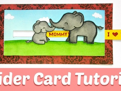 How to make a Creative Slider Card | Cute Gift to your Mom | Saminspire