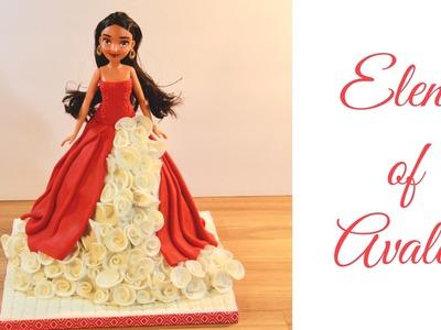 How to make a Elena of avalor cake