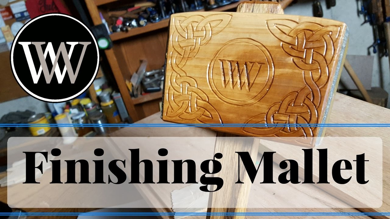How To Make a Finishing Mallet With Leather Faces for Woodworking Projects