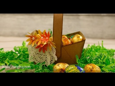How To Make An Easter Basket Using Stampin' Up! Products