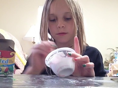 How to make candy cane slime