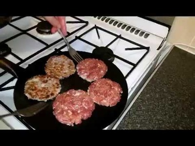 How to make chicken & minced meat Tikka Kebab Kabab burger recipe with a plate trick