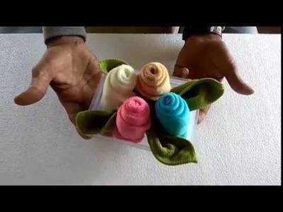 How to make cloth art