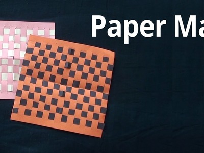 How to make mat with paper | Easy Paper Crafts & Arts for Kids