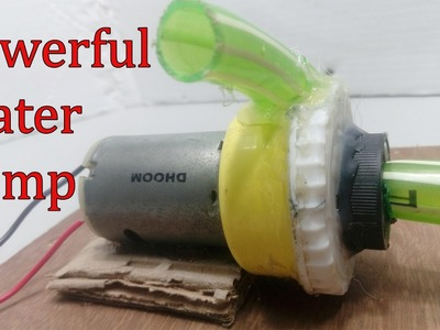 How to make Water Pump At Home