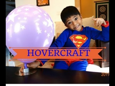 How To Make Your Own Hovercraft at Home; Fun and Easy Video; DIY