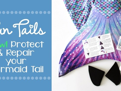 How To Protect Your Sun Tail Mermaid Tail   Mermaid Tail Protector Kit by Sun Tail Mermaid