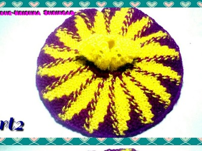 Knitting 2 Needle(salai) Flower dress.poshak for Ladoo Gopal,Thakurji winter woolen dress,size-0,1,2