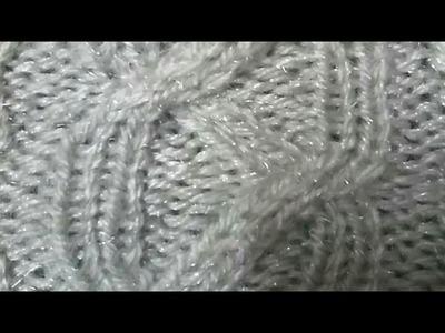 Knitting Pattern | Ladies Sweater Piping Design #2