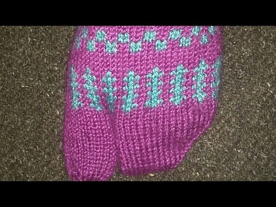 Ladies Thumb Socks Knitting With Two Needles In Hindi