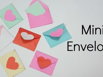 Mini Envelopes for Scrapbook.Mini Envelopes for Explosion box.How to Make mini Envelope.Miniature