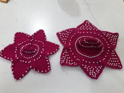 Part 2 - Star shape crochet poshak of Bal Gopal - 2.2