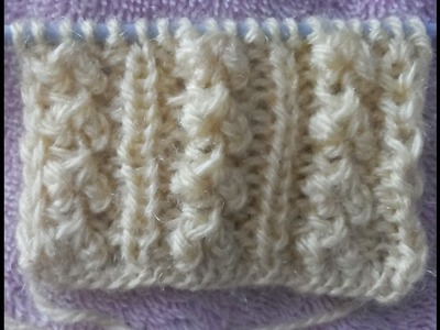Simple and short sweater knitting design heart design # 9