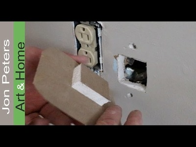 Simple Sheetrock Repair -  How to fix a Hole in the Wall