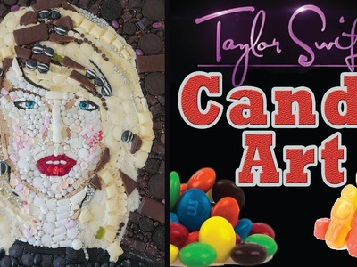 Taylor Swift Candy Portrait How To Cook That Ann Reardon Food Art