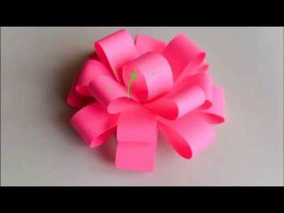 Construction paper flowers beautiful flower paper crafts very easy paper home made flower for gift items crafting duniya mightylinksfo