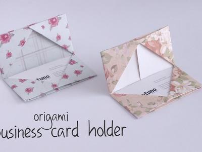DIY: Business Card Holder